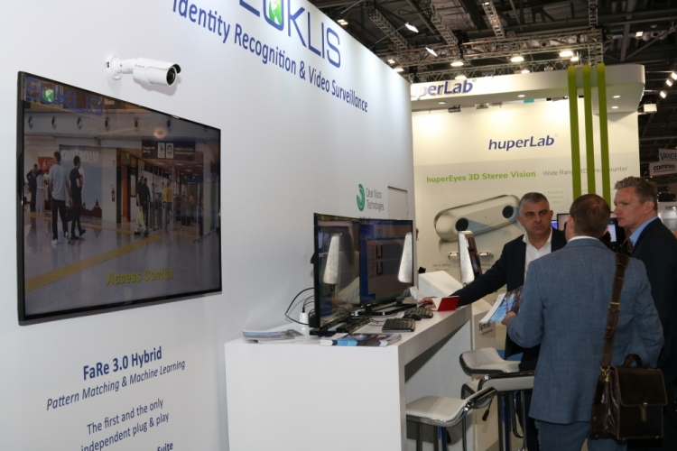 Great success and IFSEC for the presentation of Euklis FaRe 3.0 Hybrid