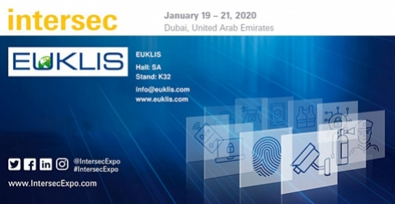 EUKLIS is delighted to invite you at  INTERSEC DUBAI, January 19-21, 2020 the leading trade fair for security