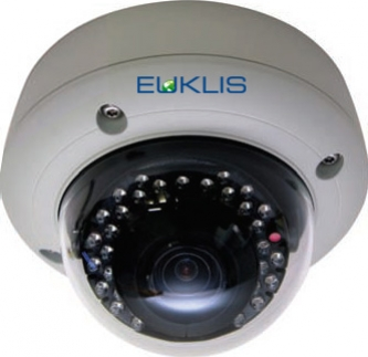 Minidome - Sony 3 Megapixel - 72dB WDR - Motorized Varifocal 2,8 - 12 - IR IK10 - IP66 - Basic Video Analytics Onboard