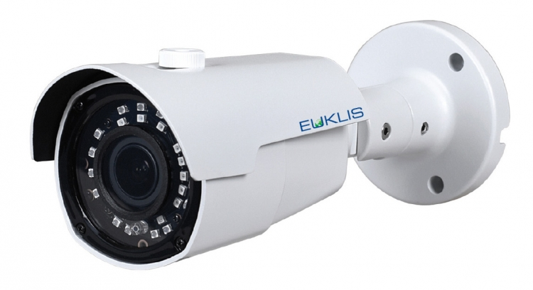 Euklis Microbullet - Sony FullHD - 72dB WDR - Motorized zoom 2,8 - 12 - IR - Plastic - IP66